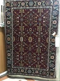 karastan red serapi wool rug 5 7 x7 11 black