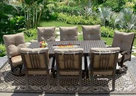 cheap outdoor furniture ideas. outdoor brown classic stained steel conversation set with fruit also fireplace and cheap patio furniture sets ideas s