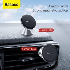 Baseus 360 Degree Universal <b>Magnetic Car Phone Holder</b> Air Vent ...