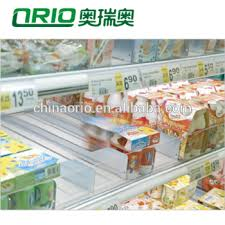 Vending Machine Product Pushers Impressive Supermarket Display Racking Sliding Roller Shelf Pusher System For