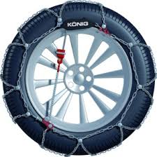 Konig T2 Magic Snow Chains Size Chart Konig Cl10 Snow Chains For Cars And Smaller 4wds Pauls