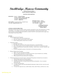22 Resume Examples For Dental Assistant Free Sample Resume