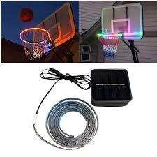 Basketball Hoop Led Light Amazon Com Jaklove Led Basketball Hoop Lights Basketball