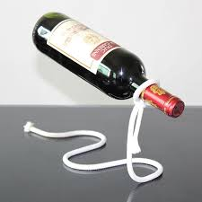 creative illusion floating red wine rack stand bottle holder rope bracket home exotic kitchen living room beer mount by lumylu dhgate com