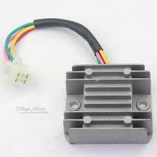 online buy whole voltage regulator rectifier from 4 wires voltage regulator rectifier motorcycle boat motor mercury atv gy6 50 150cc scooter moped jcl