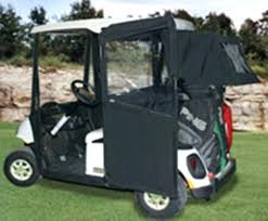 sunbrella golf cart enclosure doorworks ezgo txt forest green sunbrella golf cart enclosure hinged doors 2se