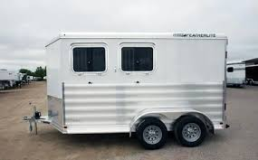 home featherlite horse and livestock trailers