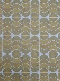 Vintage Behang Geometrisch Groene En Bruine Bolletjes Funkywalls