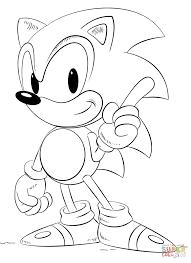 Sonic Coloring Pages Free 7731063 Attachment Lezincnyccom