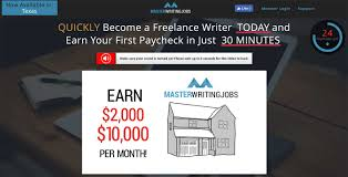real writing jobs scam why pay for something that s master writing jobs i am however going to show you how you can become a writer for and i ll also show you where you can get some experience and