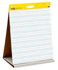 Post It Super Sticky Tabletop Easel Pad 20 In X 23 In White