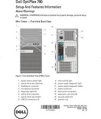 Dell Diagnostic Lights Dell Optiplex 790 Setup Guide Manualslib Makes It Easy To