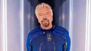 Richard Branson: Unternehmer Richard Branson vor Raketenstart ins All