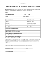 019 Template Ideas Accident Report Form Unusual Templates