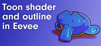 how to make a realtime toon shader and outline with blender 2 8 eevee