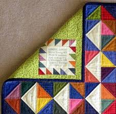 12 best Quilt labels images on Pinterest | Amy butler fabric ... & Love the label and signatures of those who made the quilt. Adamdwight.com