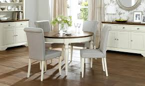 cream round extending dining table designs