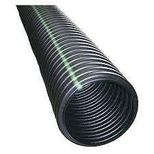corrugated drain pipe drainage with filter sock 3 inch home depot 12