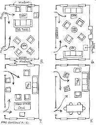 Living Room Dining Room Furniture Arrangement Arranging Furniture Twelve Different Ways In The Same Room Fred