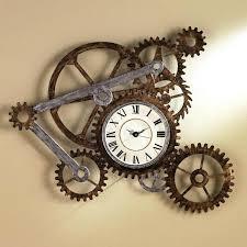 huge wall clocks image of big wheel wall clock large skeleton wall clocks uk