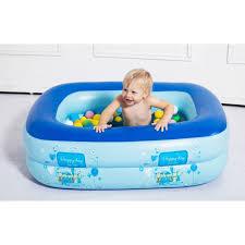 inflatable baby swimming pool eco friendly pvc portable children bath tub kids mini playground 110x80x30cm wishlists tk
