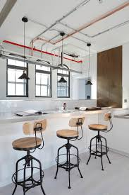home office furniture indianapolis industrial furniture. View In Gallery Interesting Counter Design With Cool Lighting Home Office Furniture Indianapolis Industrial T