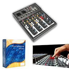 Amazon.com: Professional 4/7 <b>Channel</b> Live Studio Audio Sound ...