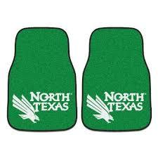 green car floor mats. NCAA - University Of North Texas Green Heavy Duty 2-Piece 17 In. X Green Car Floor Mats