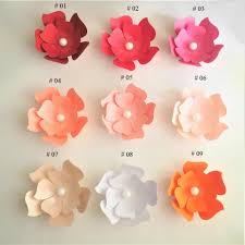 20cm cardstock rose diy easy paper flowers wedding event backdrops decorations baby nursery wall flower decor