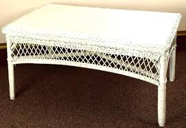 table round wicker coffee tables stylish white table glass top best woven trunk