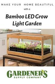 Make Your Home Beautiful With A Bamboo Led Grow Light Garden
