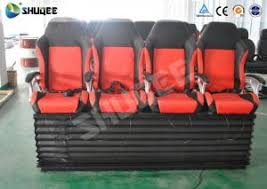 A  Quality Waterproof Simulation And Electric Shock Movie Theater Chairs  With Pneumatic System For Sale