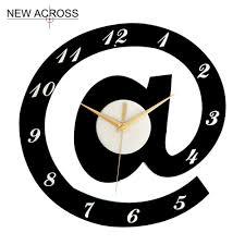 Kitchen Wall Clocks Modern Popular Black Kitchen Clock Buy Cheap Black Kitchen Clock Lots