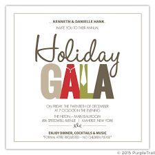 Formal Christmas Party Invitations Pearls And Tie Formal Wear Holiday Party Invitation