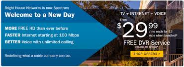 bright house customers have already been introduced to charter spectrum plans