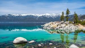 Lake tahoe is the second deepest lake in the u.s., with a maximum depth of 1,645 feet (501 m), trailing oregon's crater lake at 1,949 ft (594 m). Lake Tahoe California Book Tickets Tours Getyourguide