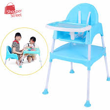 3 in 1 multipurpose convertible kid dinning seat kid study table and chair set