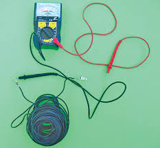 along with a multimeter a long wire with alligator clips on both ends is needed