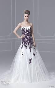 white and purple wedding dress unique wedding dresses wedding