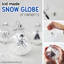 diy snow globe ornaments