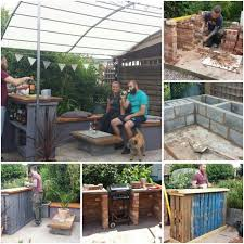 pallet building ideas. image result for brick bars outside tree pallet building ideas