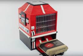 How To Make A Vending Machine Magnificent This LEGO Personal Pan Pizza Vending Machine Will Make You Drool