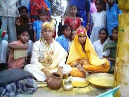 "early marriage in wikigender child marriage can be defined as ""any marriage carried out below the age of 18 years before the girl is physically physiologically and psychologically"