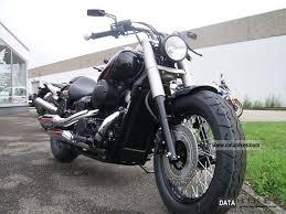 2011 honda vt 750 black spirit bobber conversion