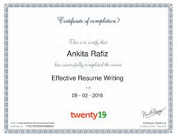 amusing online resume writing course additional resume   essay forums best resume chic online resume writing course about ankita twenty19 effective resume writing course certificate