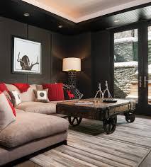 industrial living room furniture. Living Room : Wooden Glass Table DIY Industrial Cabinets Vintage Mirror Diy Best Simple Furniture I
