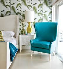 Turquoise Living Room Furniture Turquoise Accent Chair Living Room Decorating Trends For