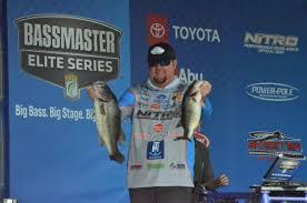Bassmaster Fishing Chart Bassmaster Elite Series Williamsons Big Bass Carries Him