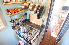Small Picture Tiny House Stove and Storage Contemporary Kitchen San