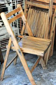 brilliant weekend finds pretty quirky wooden folding chairs for antique designs old fashioned antique set of 2 wooden folding chairs slat seat